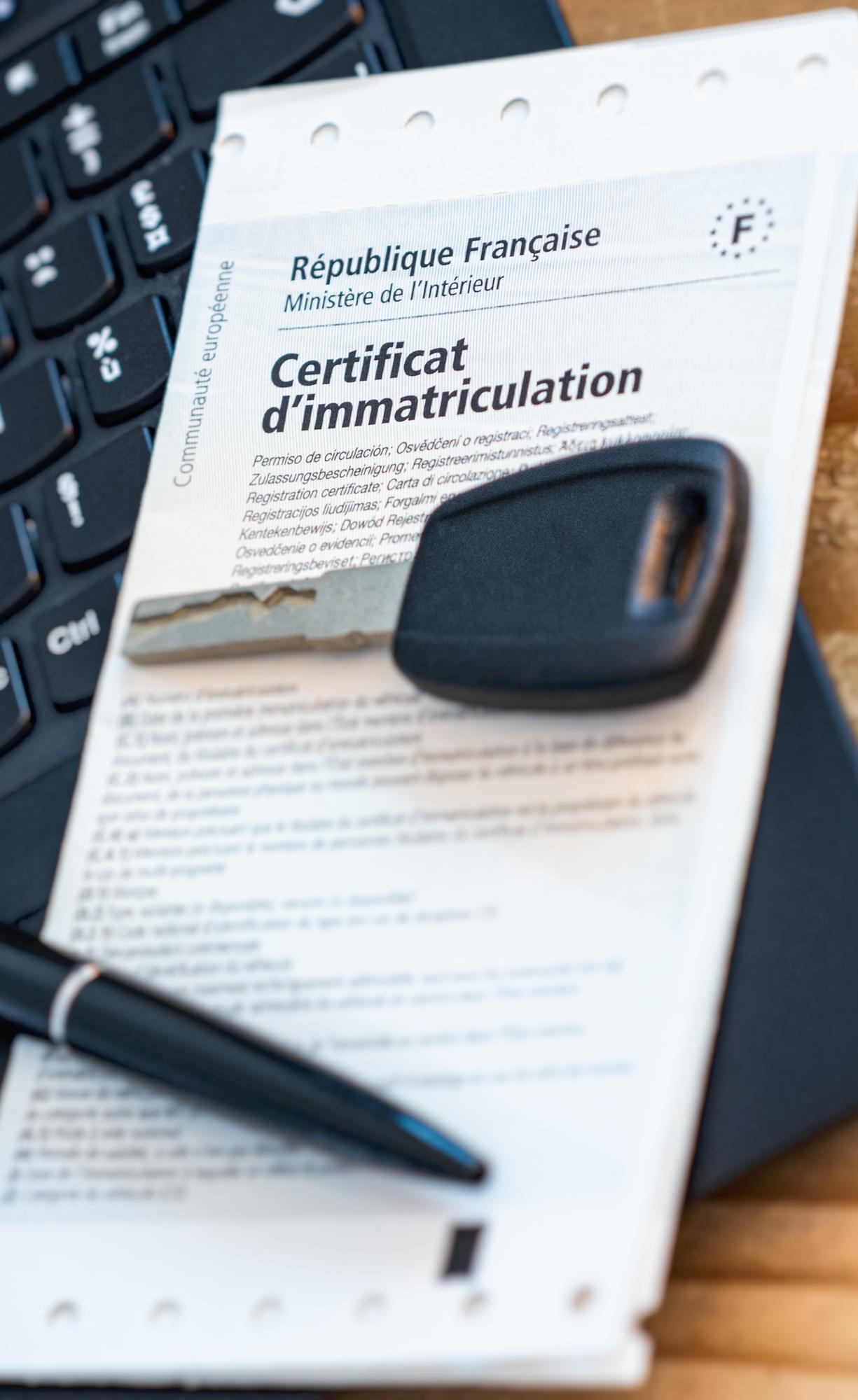 Service carte grise - Immatriculation - Quissac Sauve Gard