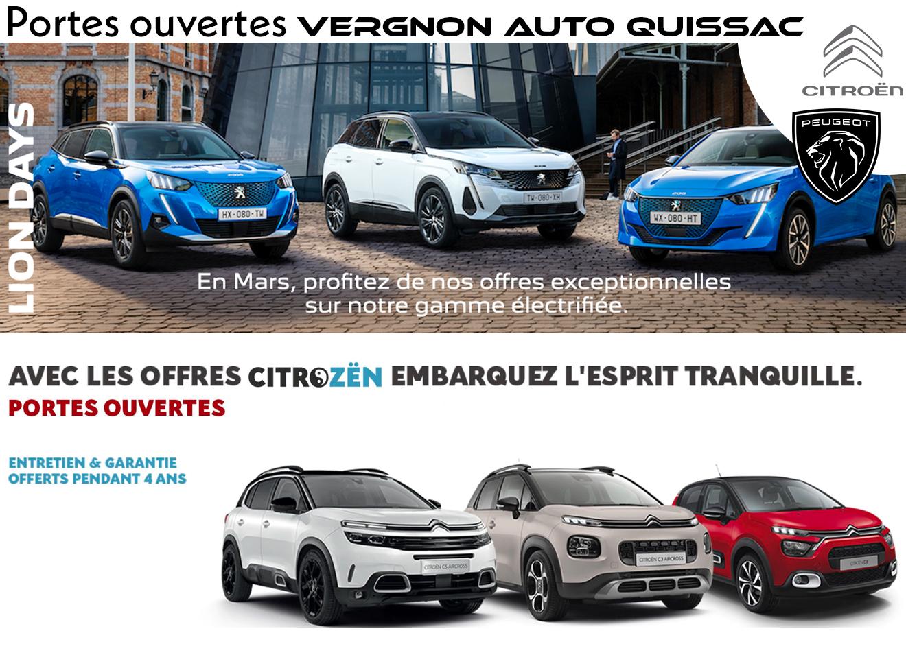 Mars 2021 - Portes ouvertes Peugeot-Citroën à Quissac