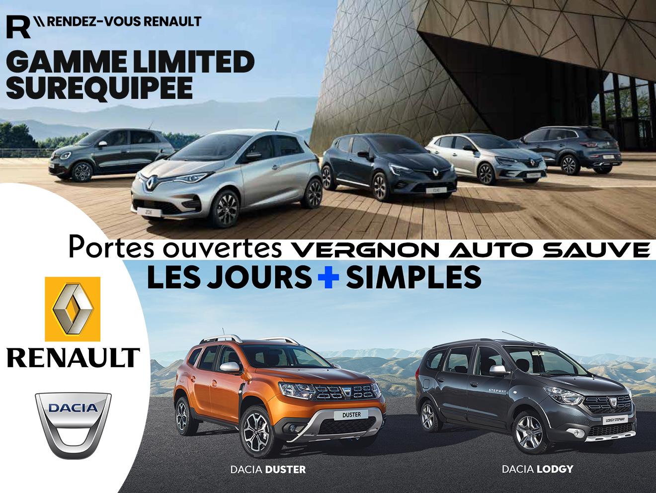 Mars 2021 - Portes ouvertes Renault-Dacia à Sauve