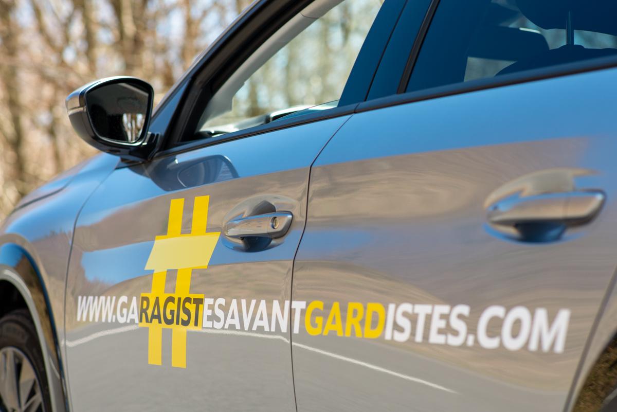 Road trip en véhicule de courtoisie Peugeot e-208 #GaragistesAvantGardistes !