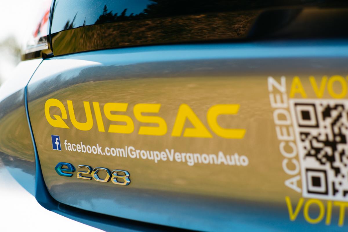 Road trip électrique en véhicule de courtoisie Peugeot e-208 #GaragistesAvantGardistes !