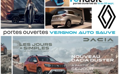 Portes ouvertes «Renault-Dacia» Sauve !