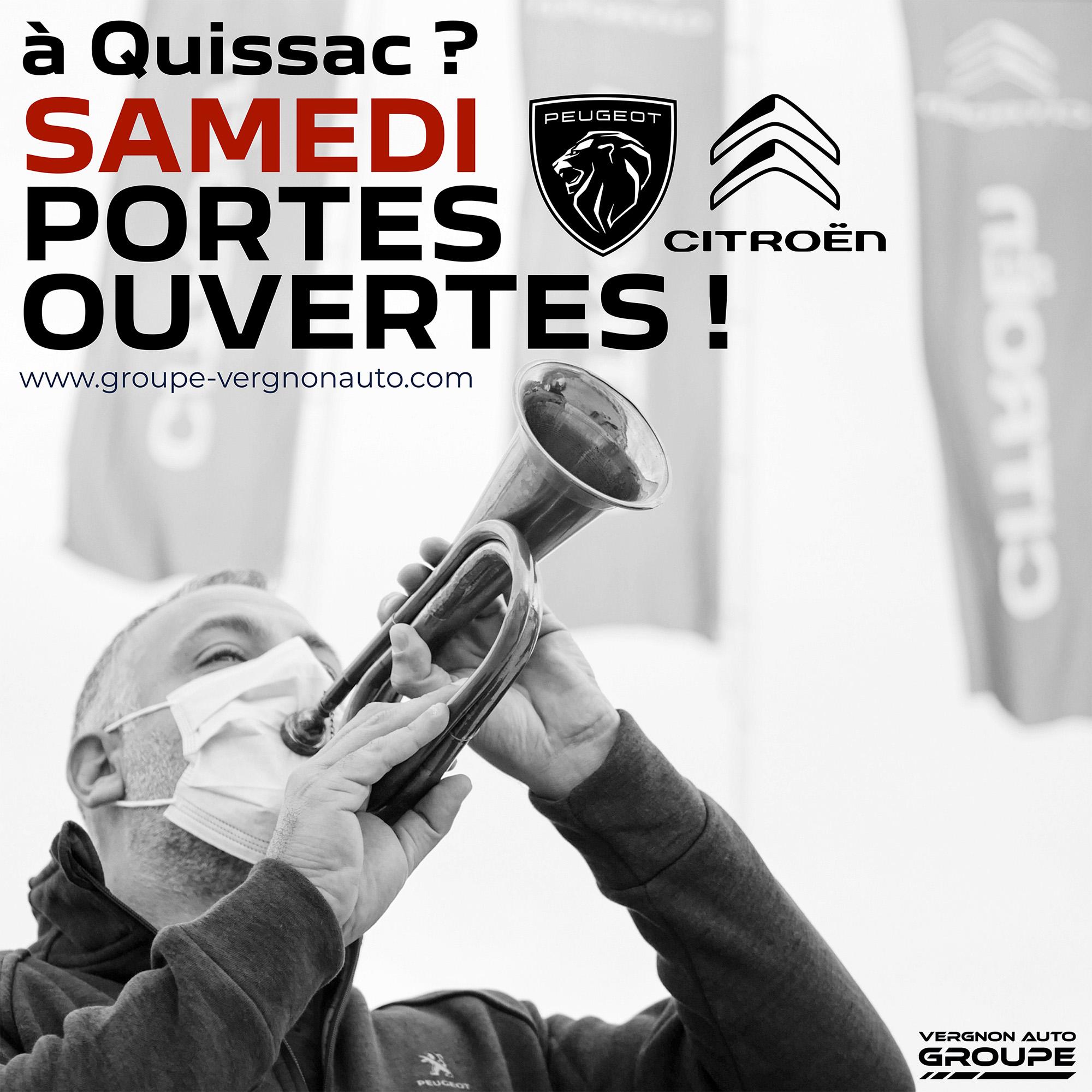 Portes ouvertes Peugeot Citroën Quissac Gard