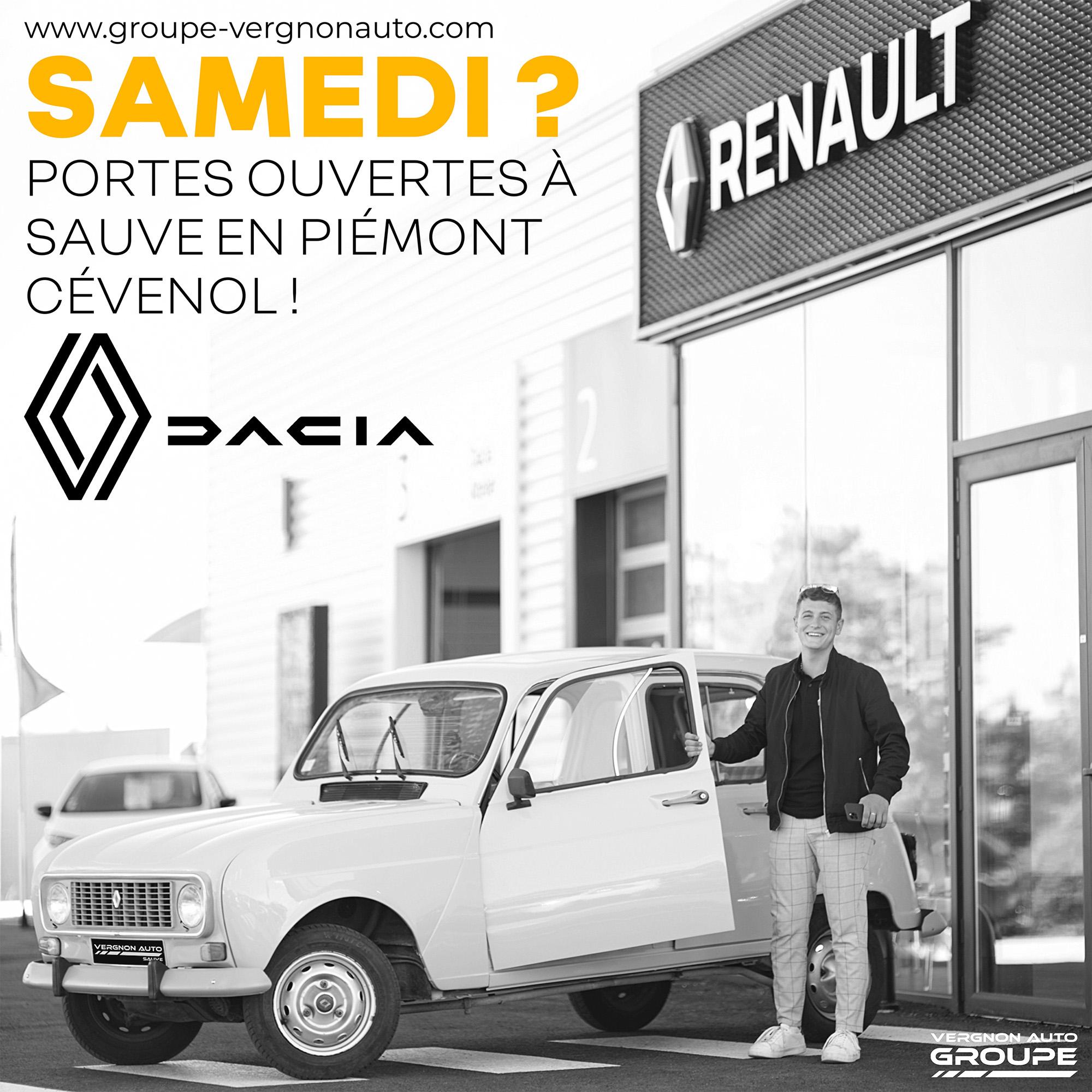 Portes ouvertes Renault-Dacia Sauve Gard